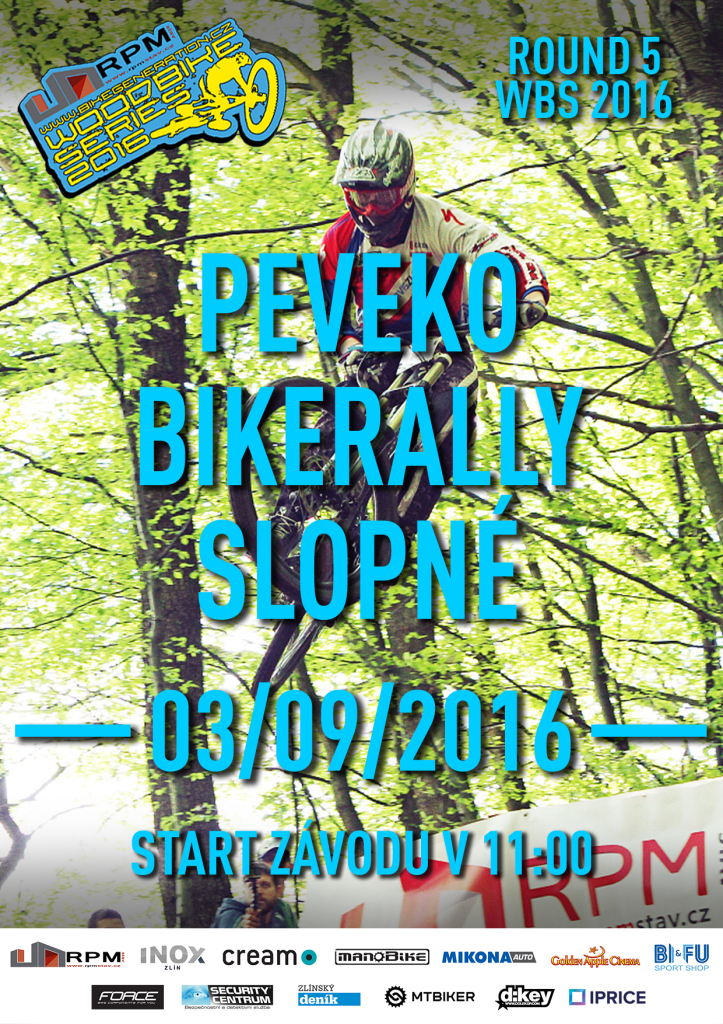 Peveko BikeRally Slopné 2016